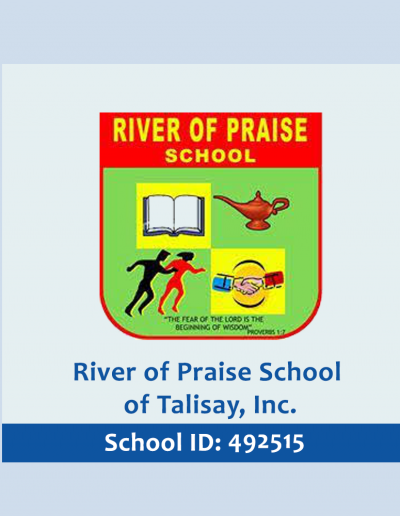 River of Praise School of Talisay, Inc