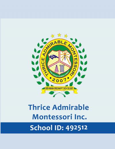 Thrice Admirable
